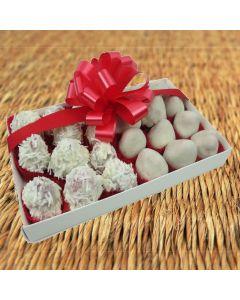 White Chocolate-Dipped Strawberries