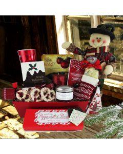 A Traditional Christmas Gift Basket