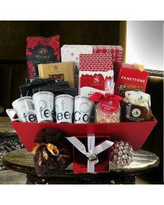 The Festive Coffee Gift Basket