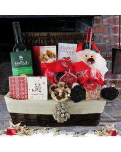 Christmas Cheer Picnic Basket