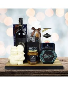 A Perfect Holiday Gift Set With Wine