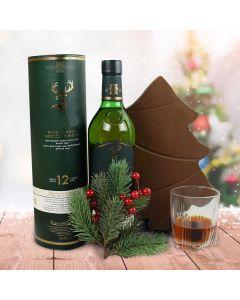 A Very Merry Chocolate Tree Liquor Gift