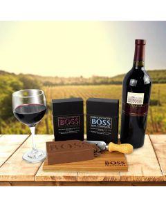 BOSS Deluxe Wine Pairing Chocolate Bars - Duo Set