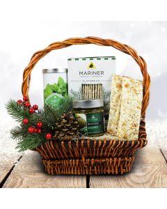 Christmas Crackers & Tea Gift