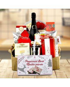Christmas Snacking Gift Basket