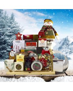 Christmas Toboggan Gift Basket