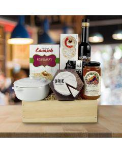The Brie Baker Gourmet Gift Basket
