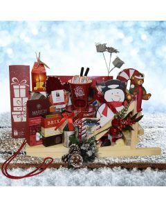 The Christmas Dog Sled Gift