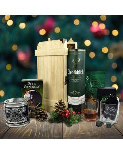 An Evergreen Christmas Gift Basket