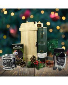 Evergreen Christmas Gift Basket