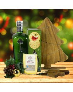 Gin, Cheese & Crackers Gift Set
