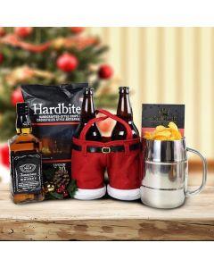 Merry Christmas Craft Beer & Liquor Gift Set