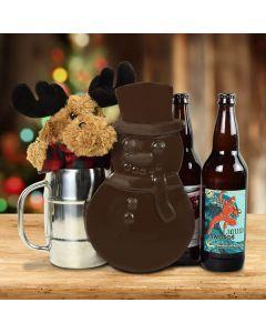 Merry Craftmas Beer Gift Basket