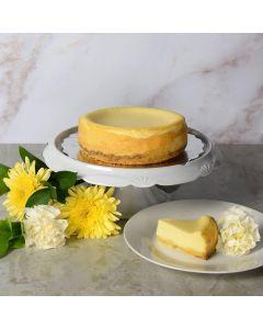 New York Style Plain Cheesecake