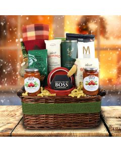 Packed With Pasta Holiday Liquor Gift Basket