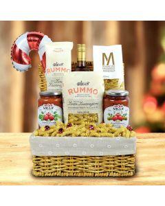 Pasta Extravaganza Christmas Wine Gift Basket