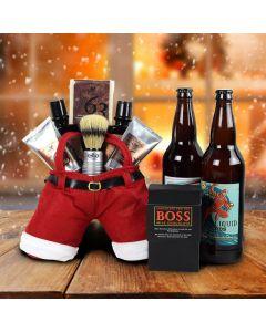 Santa's Shave & Craft Beer Gift Set