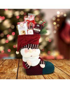 Santa's Stocking Gift Set