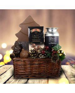 Santa's Village Gift Basket