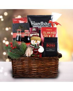 Snowman Delights Gift Basket