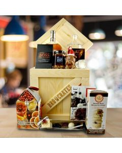 The Deluxe Christmas Liquor Crate