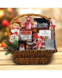 Under The Christmas Tree Liquor Gift Basket