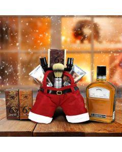 Whiskey & Santa's Shave Set Gift Set