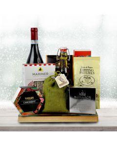Wine and Glass Top Cheese Board