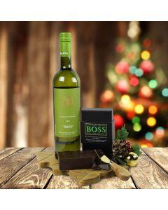 Wine & Boss Chocolate Gift Set