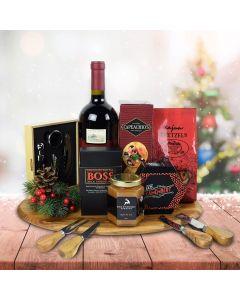Custom Christmas Wine Gift Baskets USA