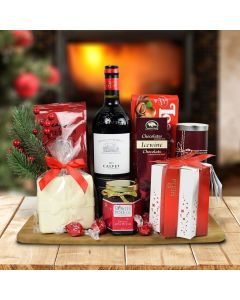 Winter Wishes Gift Basket