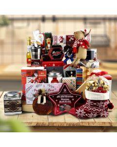 The Christmas Sled Gift Basket