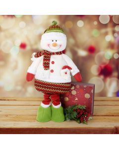 Christmas Chocolate & Tall Snowman Set, gourmet gift baskets, gourmet gifts, gifts