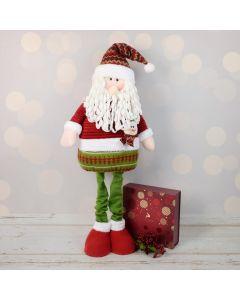 Christmas Chocolate & Tall Santa Set, gourmet gift baskets, gourmet gifts, gifts