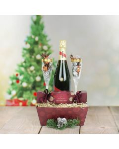 Delectable Truffles Gift Set, champagne gift baskets, Christmas gift baskets, gourmet gift baskets