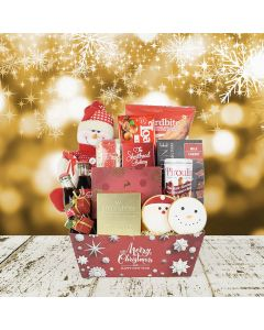 Santa's Basket of Treats, gourmet gift baskets, Christmas gift baskets, gift baskets, gifts