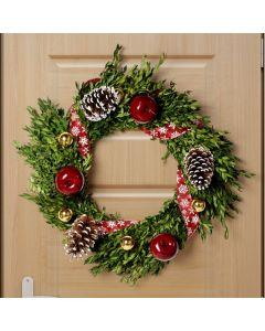 Christmas Wreath, floral gift baskets, Christmas gift baskets, plant gift baskets