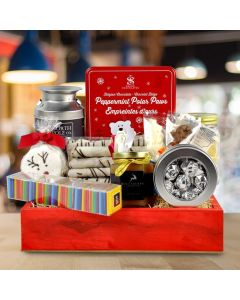 The Festive Chocolate Gift Basket