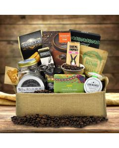 The Free Trade Gourmet Coffee Gift Basket