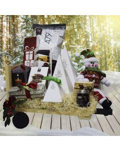 Christmas Haywagon Gift Basket