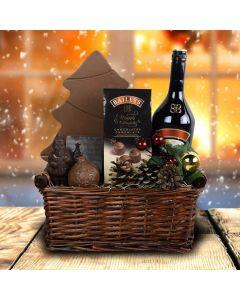 Custom Christmas Liquor Gift Baskets USA
