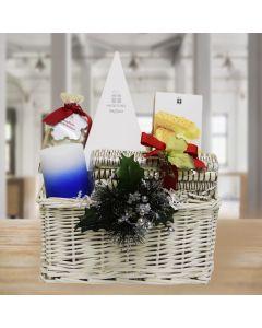 Christmas Logs and Pyramid Gift Basket