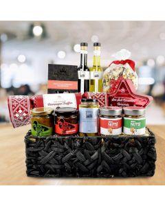 Sweet & Savory Christmas Gift Basket